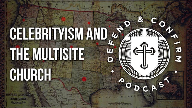 Celebrityism and the Multisite Church...