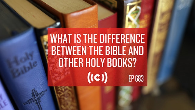 What is the Difference Between the Bible and Other Holy Books? - Core Live