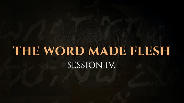 The Word Made Flesh - Session 4 - The God Who Speaks: Sunday School Kit