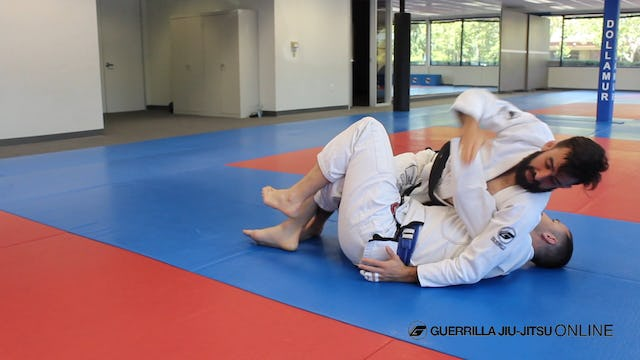 Half Guard - Regain the Under Hook to Left Pass
