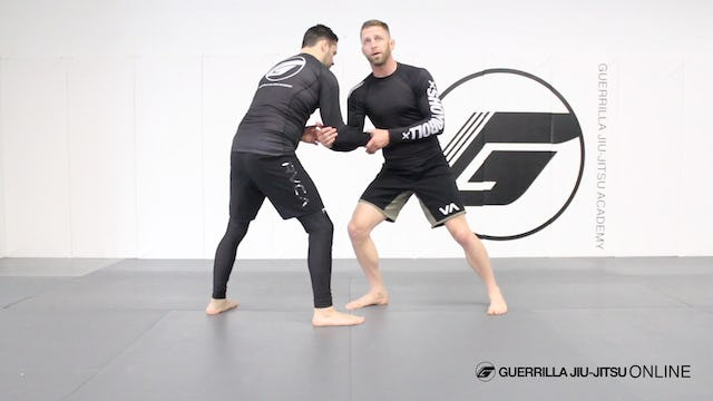Ko Uchi Gari Style Takedown from Short Arm Drag