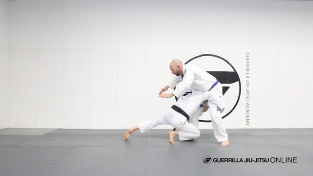 Double Leg Takedown to Half Guard Pull When Opponent Sprawls.