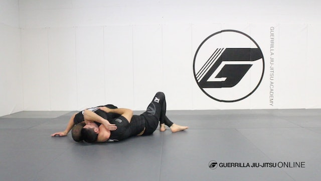 Half Guard - One Armed Arm Triangle Choke