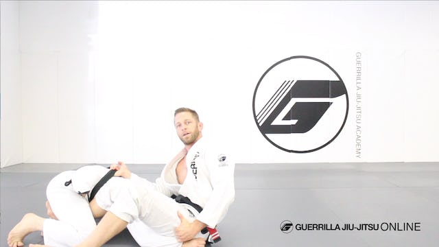 Counter the Stack Pass - Spider Guard Back Take