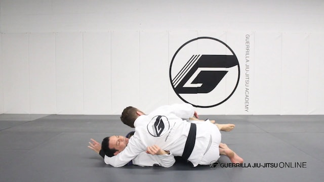 Half Guard - Right Pass to 3/4 Mount Entry
