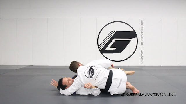Half Guard - Right Pass to 3/4 Mount ...