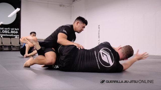 Hip Clamp Half Guard Part 1 - Push Up Sweep