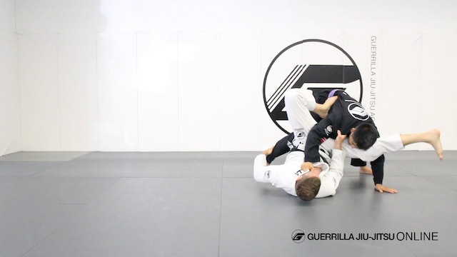 Comp Pull to De la Riva Guard Triangle Choke