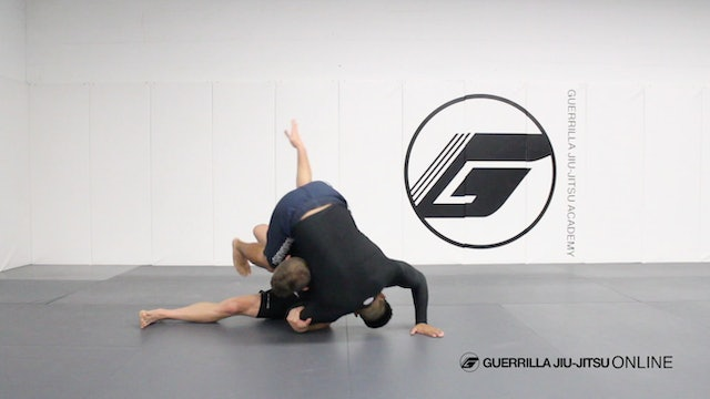 Takedowns - Kata Guruma (Fireman's Carry) for Nogi
