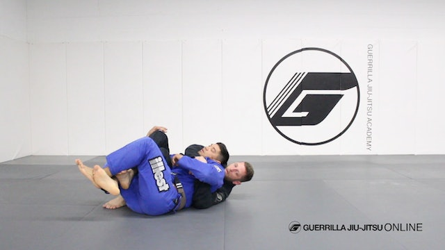 Counter Single Leg Deep Half Guard to Crucifix