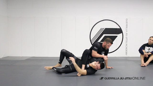 Long Step Pass the X-Guard to Monoplata