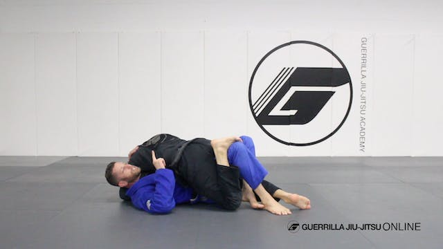 Half Guard - Counter the Right Pass T...