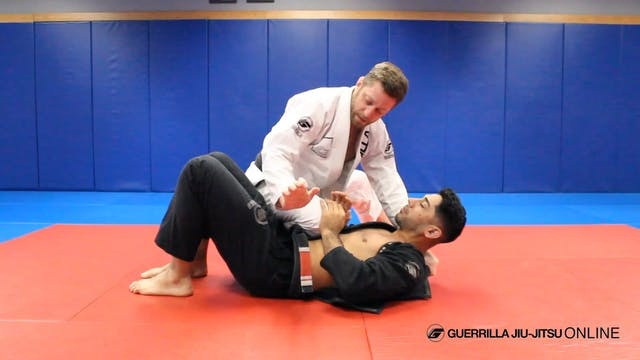 Brabo Choke from Lapel Wrap