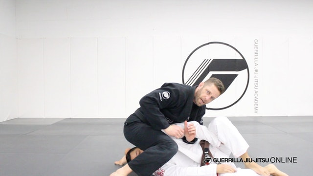 Q&A - How do you break Kimura defense when they grab their leg?