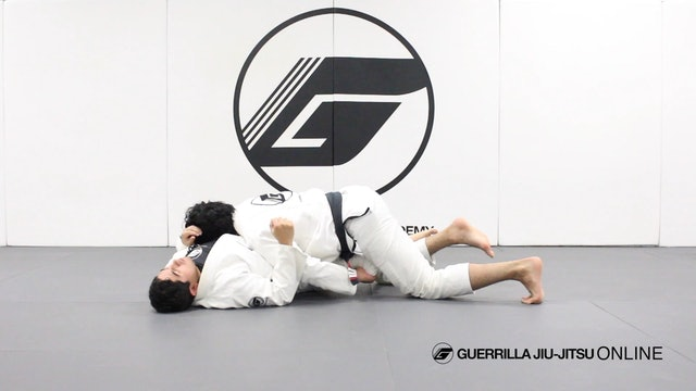 Removing the Knee Shield in Half Guard Part 1