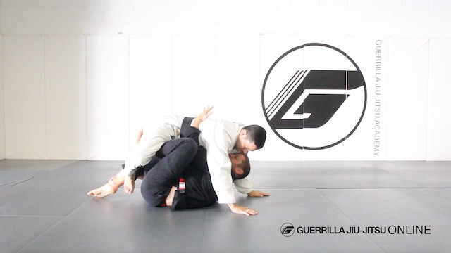 Escaping Side Control with Under Hook Hand Position - Butterfly Guard Back Take