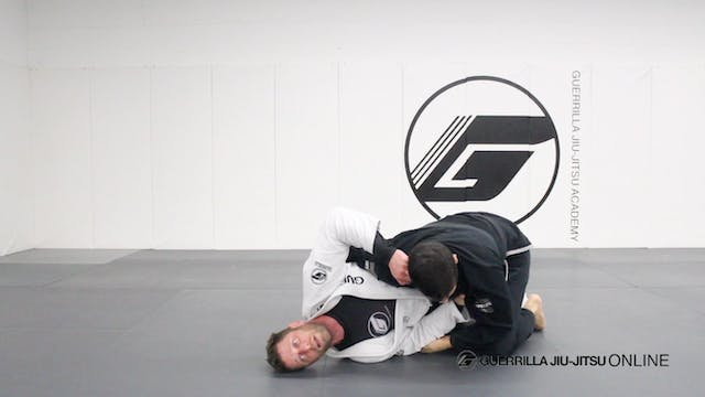 Half Guard - Bottom Under Hook Recove...