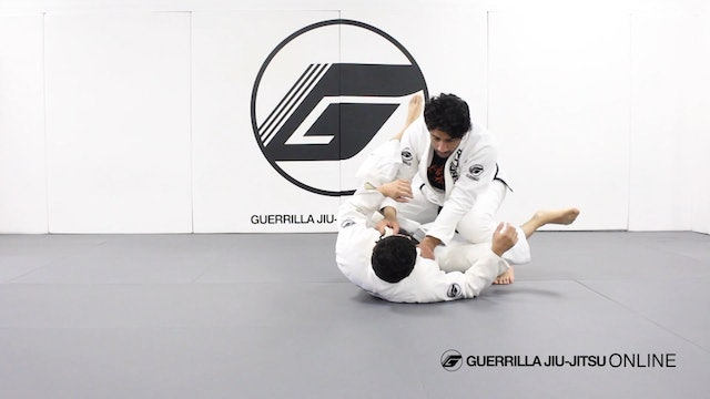 Knee Through the Middle Guard Break - Forcing Half Guard