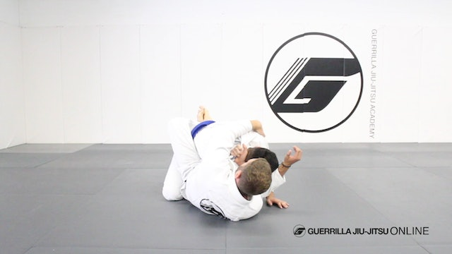 Closed Guard - Lapel Wrap System Part 3 - Belly Flop Sweep