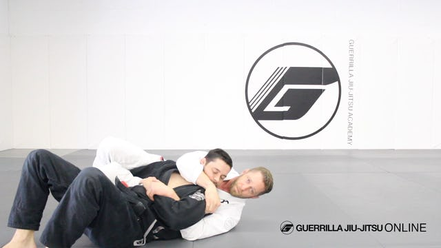 Crucifix Entry from Turtle to Cross Face Armlock