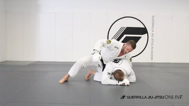 Ground and Pound the Turtle Position