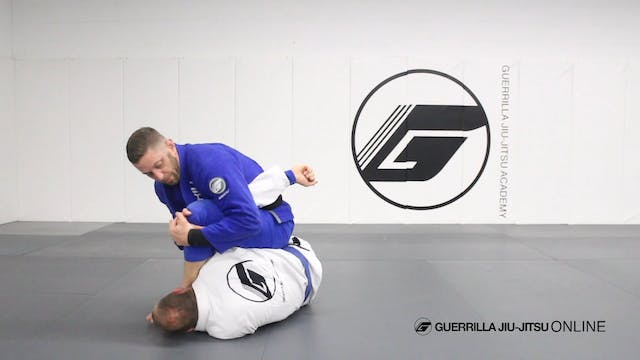 Half Guard - 3/4 Mount to Monoplata A...