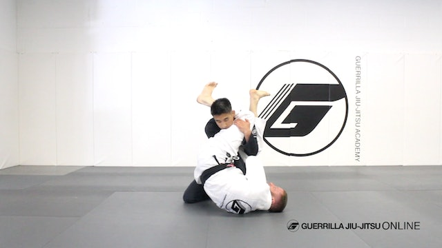 Basic Closed Guard Pull to Pendulum Sweep Armbar Part 1