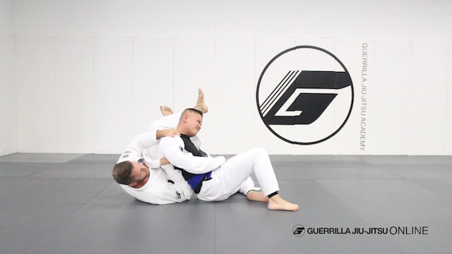 S-Mount - Untie the Defense to crossbody Omoplata