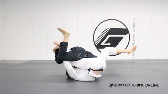 Half Guard - Counter the Under Hook to Pendulum Sweep