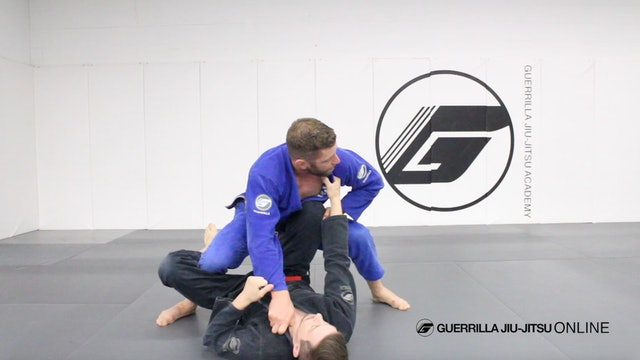 Passing De la Riva Guard in Depth - Crossover to 3/4 Mount