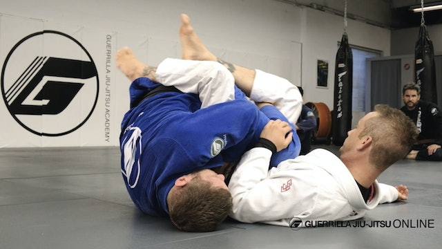 Half Guard - Countering The Back Step - Part One