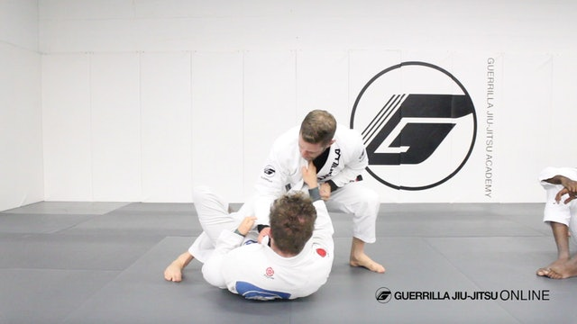 Passing De la Riva Guard in Depth - Running the Hips to Death Pass