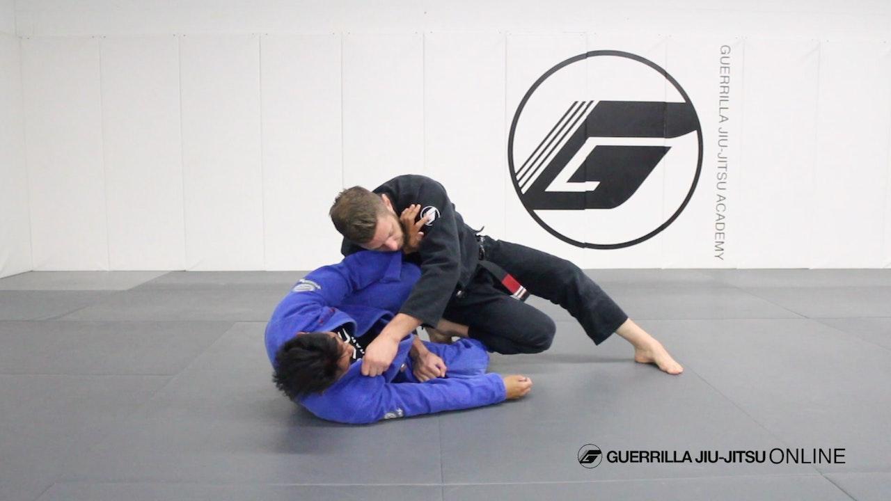 Half Guard Knee Shield Passing System