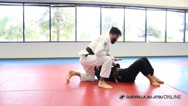Half Guard: Back Step Hub vs Under Hook