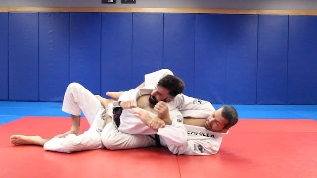 """5 left 5 right Armlock"" Drill"
