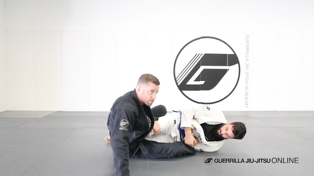 Basic Straight Ankle Lock - Escape to the Back or Mount