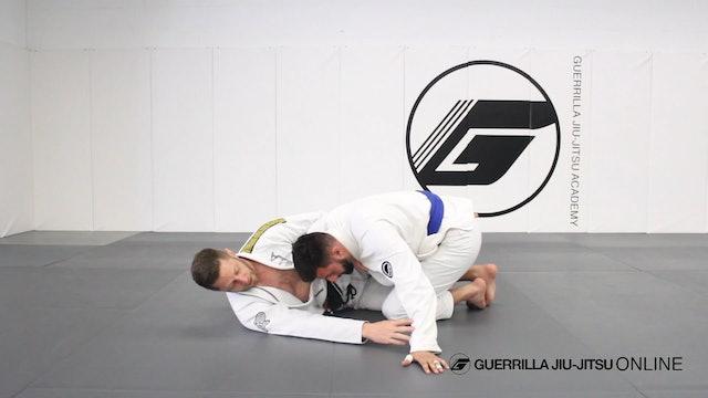 Half Guard: Hip Clamp to Triangle Choke
