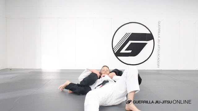 Escape the Kimura Grip Crucifix to Armlock