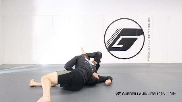 North South Choke from Knee on Belly