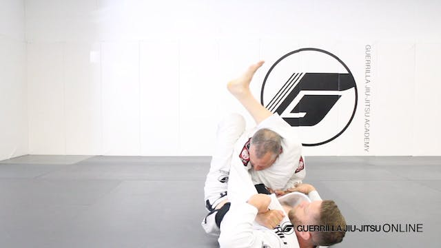 Counter Stack Pass to Triangle Choke