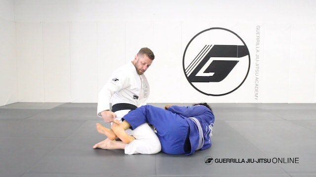 "Half Guard ""Staple"" Pass System Part 3 - Kill the Hip Clamp"