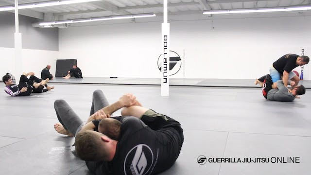 Matt Darcy Training During NoGi
