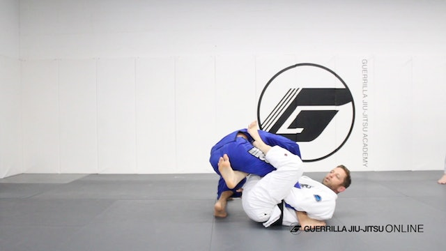Worm Guard Variations - Single Leg X sweep from Reverse De la Riva