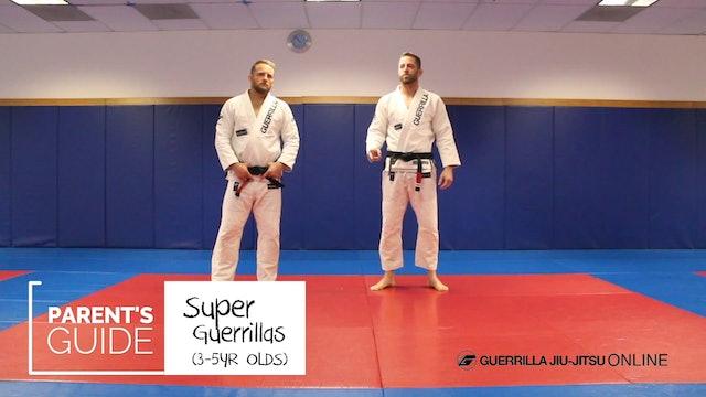Super Guerrilla Parent's Guide - Grip Breaks - Reverse and Lapel Grip