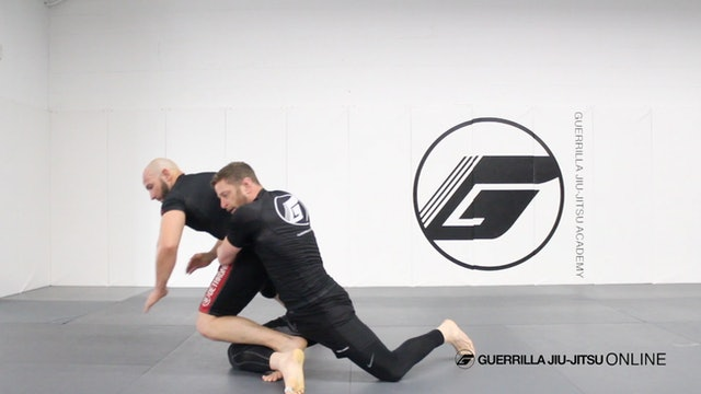 High C to Back Body Lock - Setting up the Forward Trip