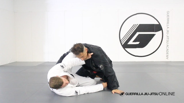Knee Shield - To Lapel Wrap System and Cross Choke in Closed Guard