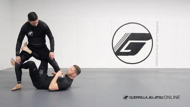 Drill: Single Leg X to X Guard Transition