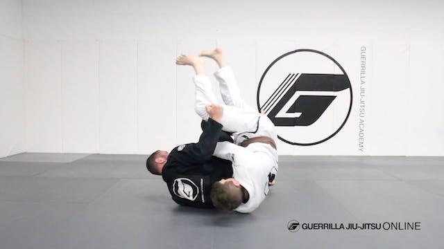 Turtle Guard Judo Reversal