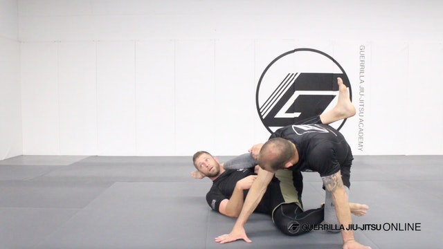 Half Guard - Waiter Sweep to Technical Stand Up
