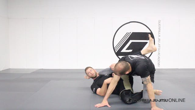 Half Guard - Waiter Sweep to Technica...